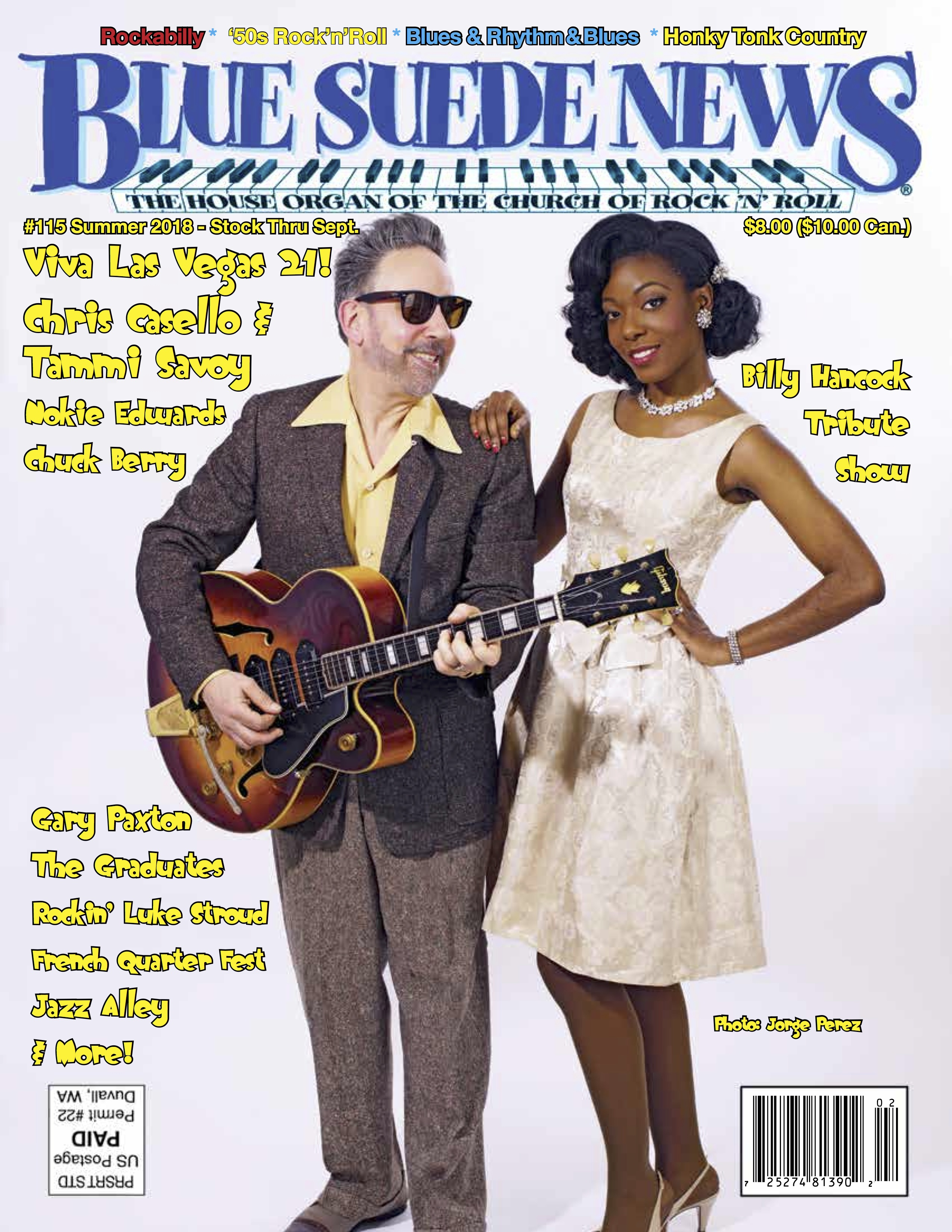 Blue Suede News Pdf Editions Rockabilly Rhythm And Blues Real Country Music Doo Surf 50s Rock N Roll Garage