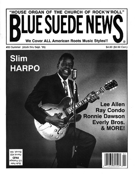 Blue Suede News 31 Slim Harpo Ray Condo Lee Allen Fats Domino Everly Brothers Ronnie Dawson Rockabilly Blues 50s Rock N Roll