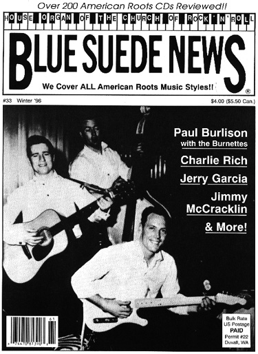 Blue Suede News 33 In Mint Condition The Pages Are All There 68 Of Them But Some Out Order Printer Made A Mistake Binding